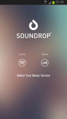 soundrop1 220x391 43 of the best Android apps launched in 2013