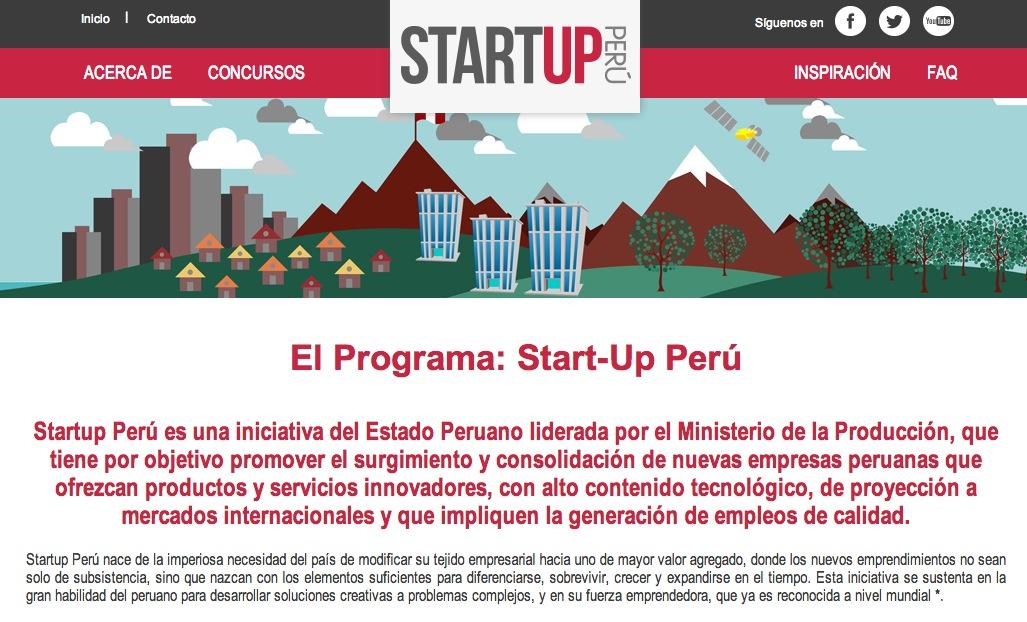start-up peru