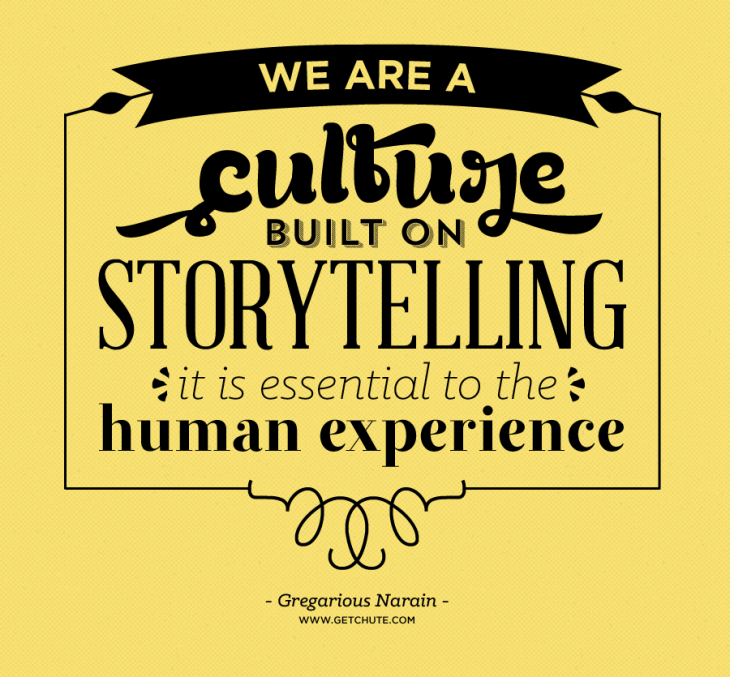 storytelling culture 730x677 The Visual Revolution is here: How one startup wants to help brands become better storytellers