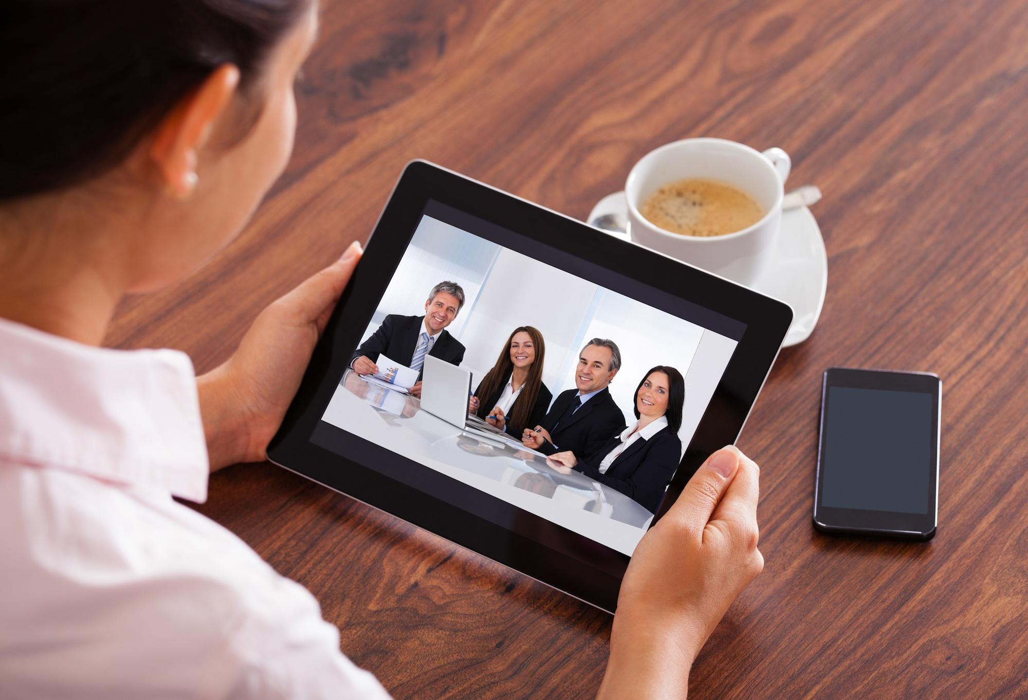 Virtual Team Meeting Managing a Virtual Team