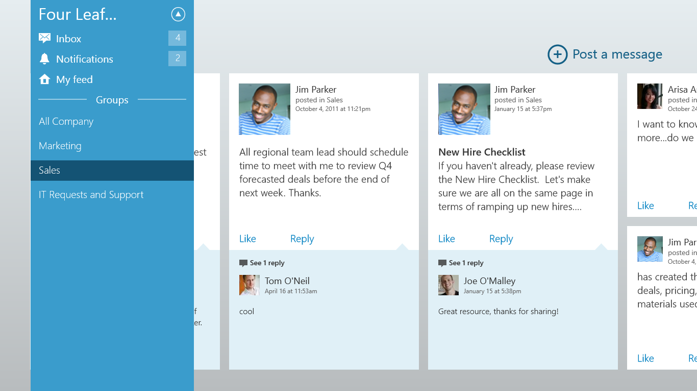 microsoft u0026 39 s yammer updates all its apps
