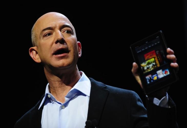 Amazon CEO Jeff Bezos introduces the new