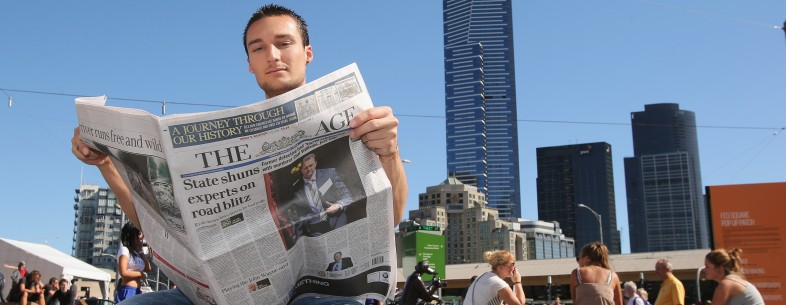 Fairfax Mastheads Switch From Broadsheet To Tabloid Size