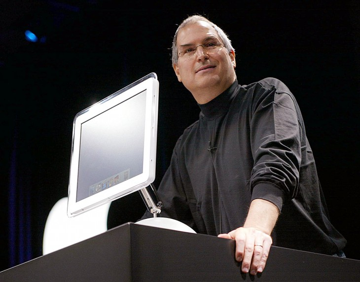 Apple Computer co-founder and CEO Steve