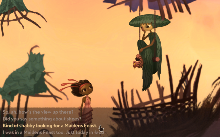 Double Fine will give backers part one of its $3.3m Kickstarter game Broken Age on January 14