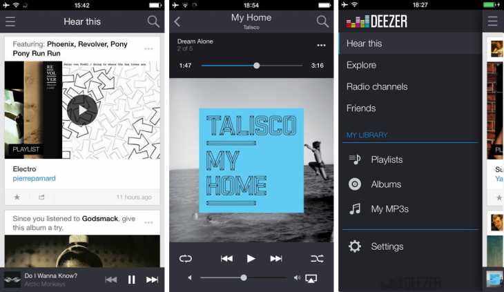 Deezer iOS 730x423 15 of the best music streaming platforms online today. Which one is best for you?