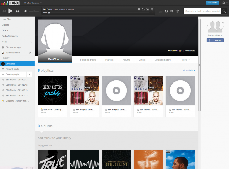 Deezer web 730x539 15 of the best music streaming platforms online today. Which one is best for you?