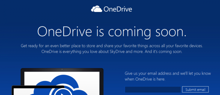 Microsoft changes 'SkyDrive' name to 'OneDrive', six months after losing court ...