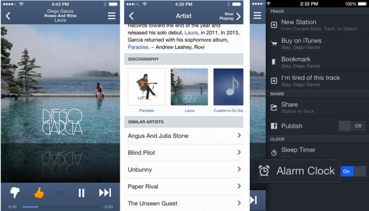 Pandora iOS 730x418 15 of the best music streaming platforms online today. Which one is best for you?