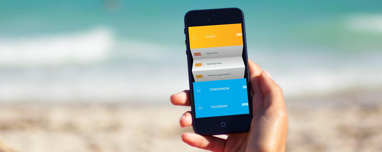 Peek: A Simple, Beautiful Calendar App for iPhone