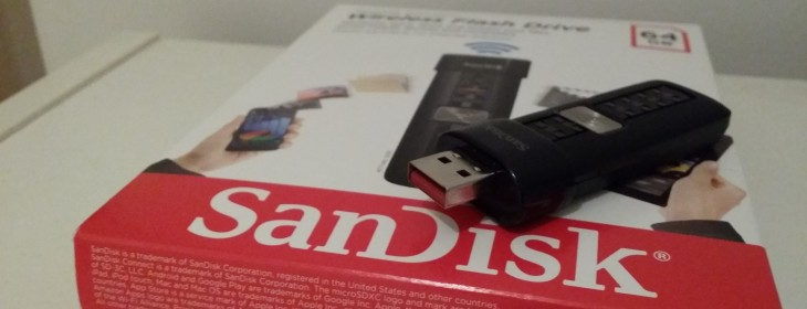 SanDisk's 64GB Wireless Flash Drive will bolster smartphone storage, but it lacks finesse [review]