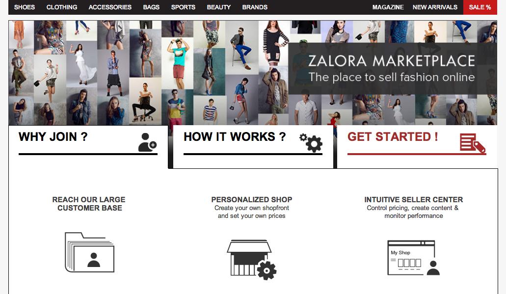 Zalora To Launch Marketplace Model Seeking Sellers Now