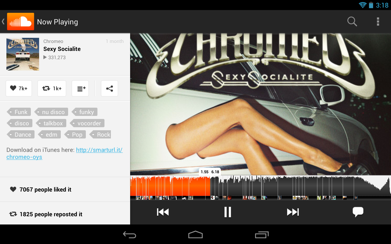 how to download music on soundcloud on android