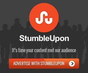 Stumbleupon ad