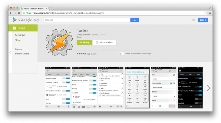 Tasker 730x406 How to supercharge your Android devices abilities with Tasker