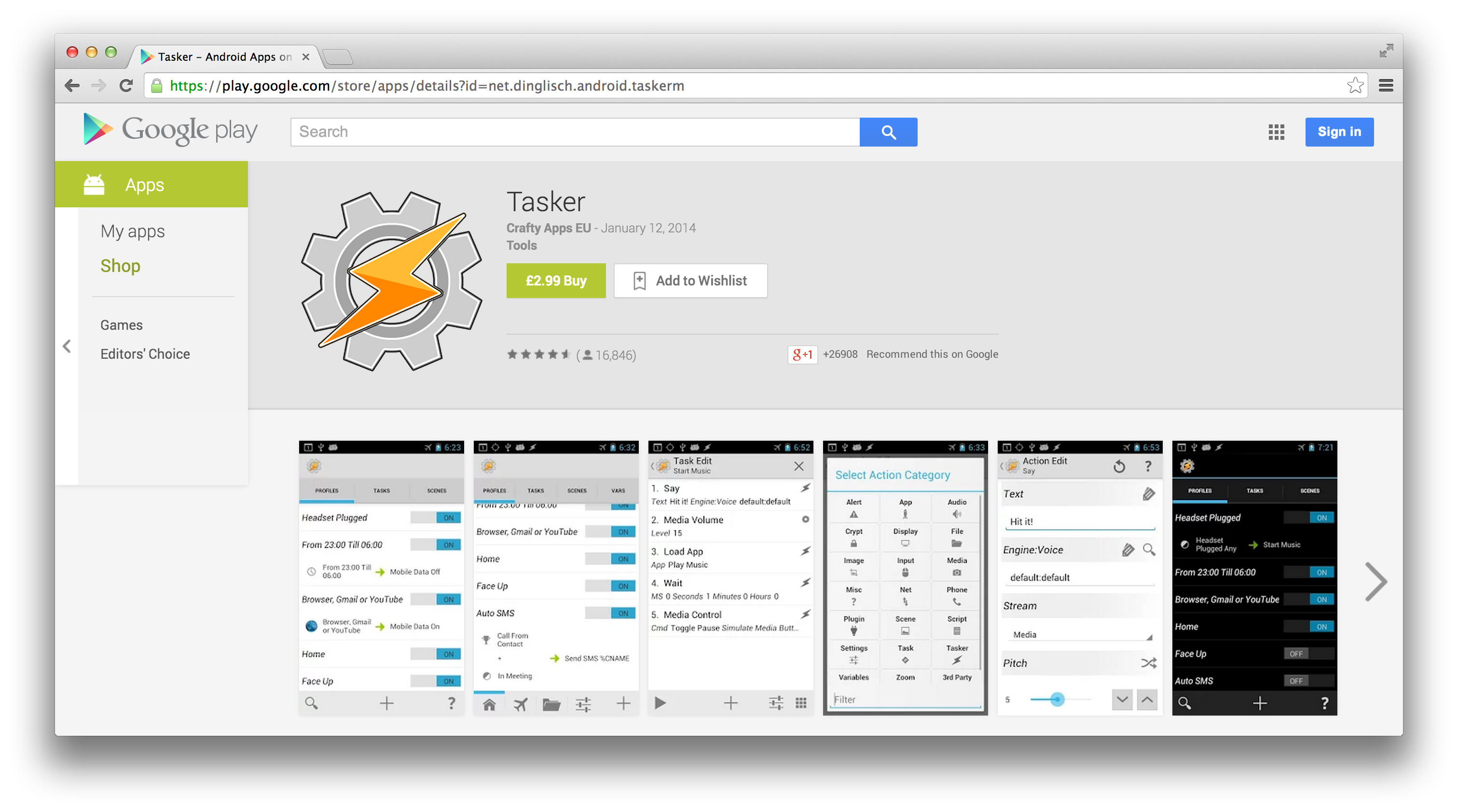 Supercharge your Android Device's Abilities with Tasker