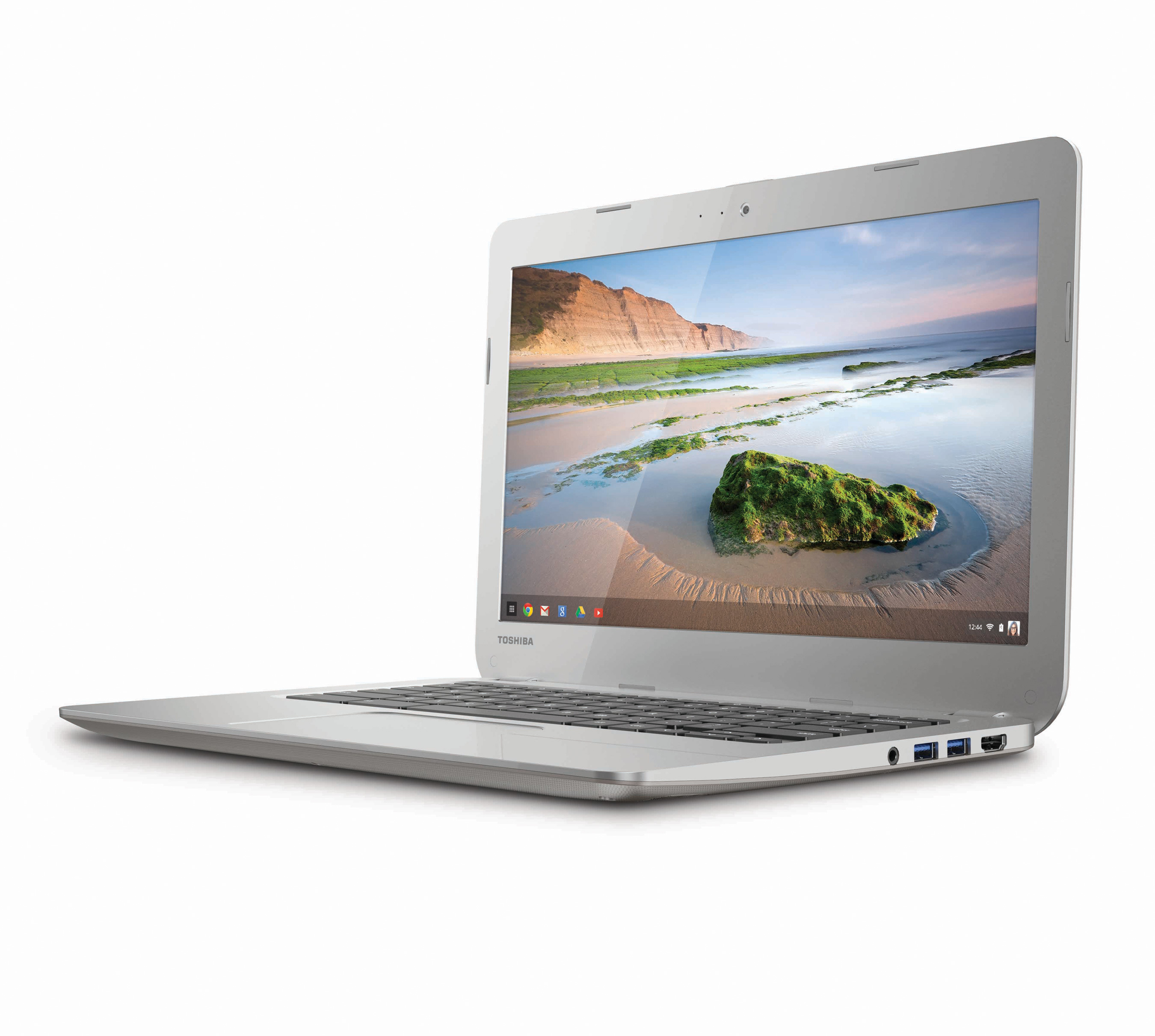 Toshiba Chromebook: 13.3″ display, a Haswell processor and 16GB SSD, for $279.99 from February 16