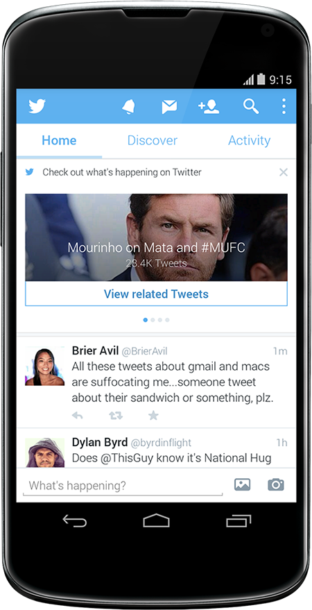 Twitter Application for Android 2.0