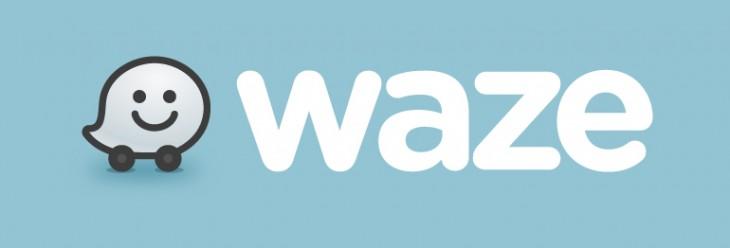 WazeLogo BlueBG