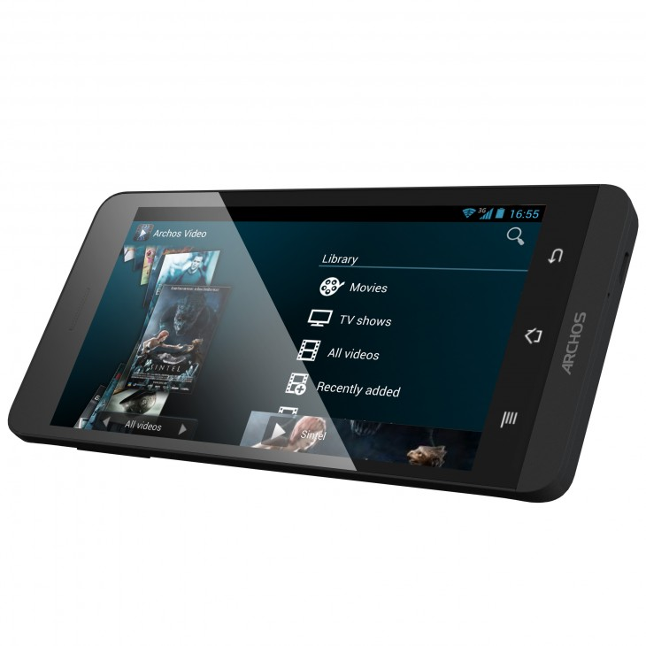 Archos unveils its new 45 and 50 Helium 4G smartphones, running stock Android 4.3, ahead of CES