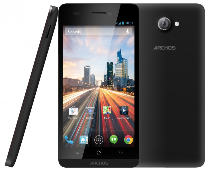 archos 50helium Triple hidef 3 730x601 Archos unveils its new 45 and 50 Helium 4G smartphones, running stock Android 4.3, ahead of CES