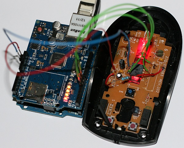 This hacker turned his mouse into a webcam, and you can too
