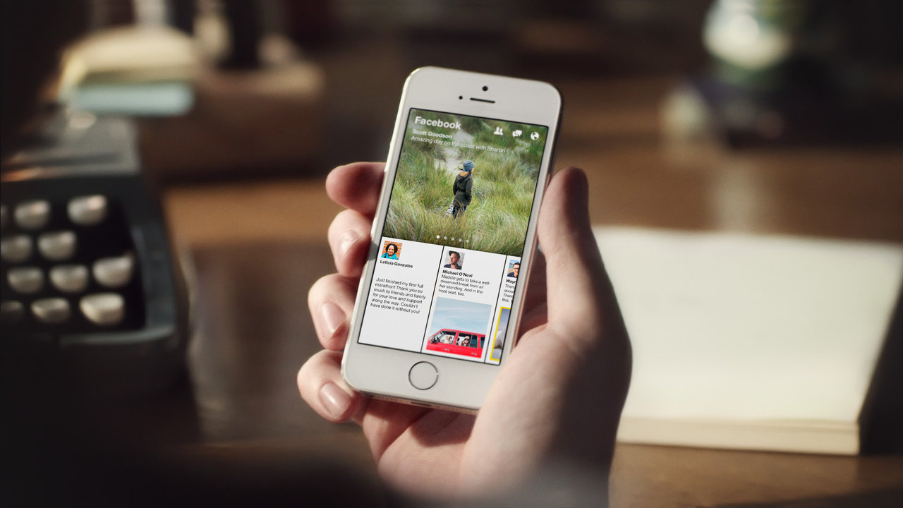 Facebook is shuttering its news app Paper on July 29th