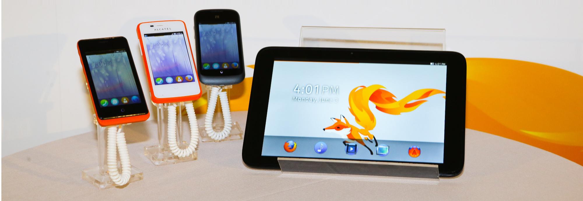 Firefox OS lineup