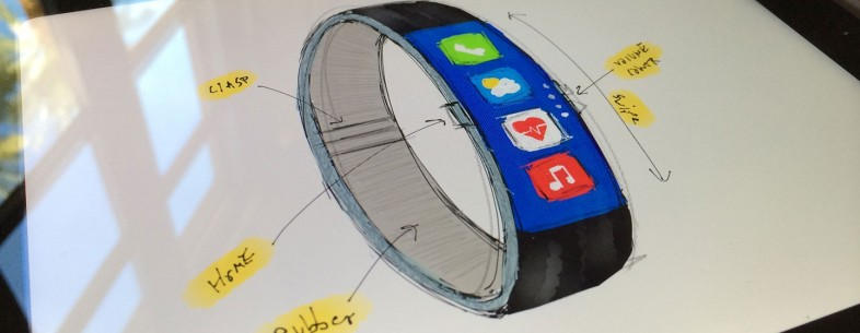 picture of Apple, please use this gorgeous FuelBand-inspired concept design for the iWatch