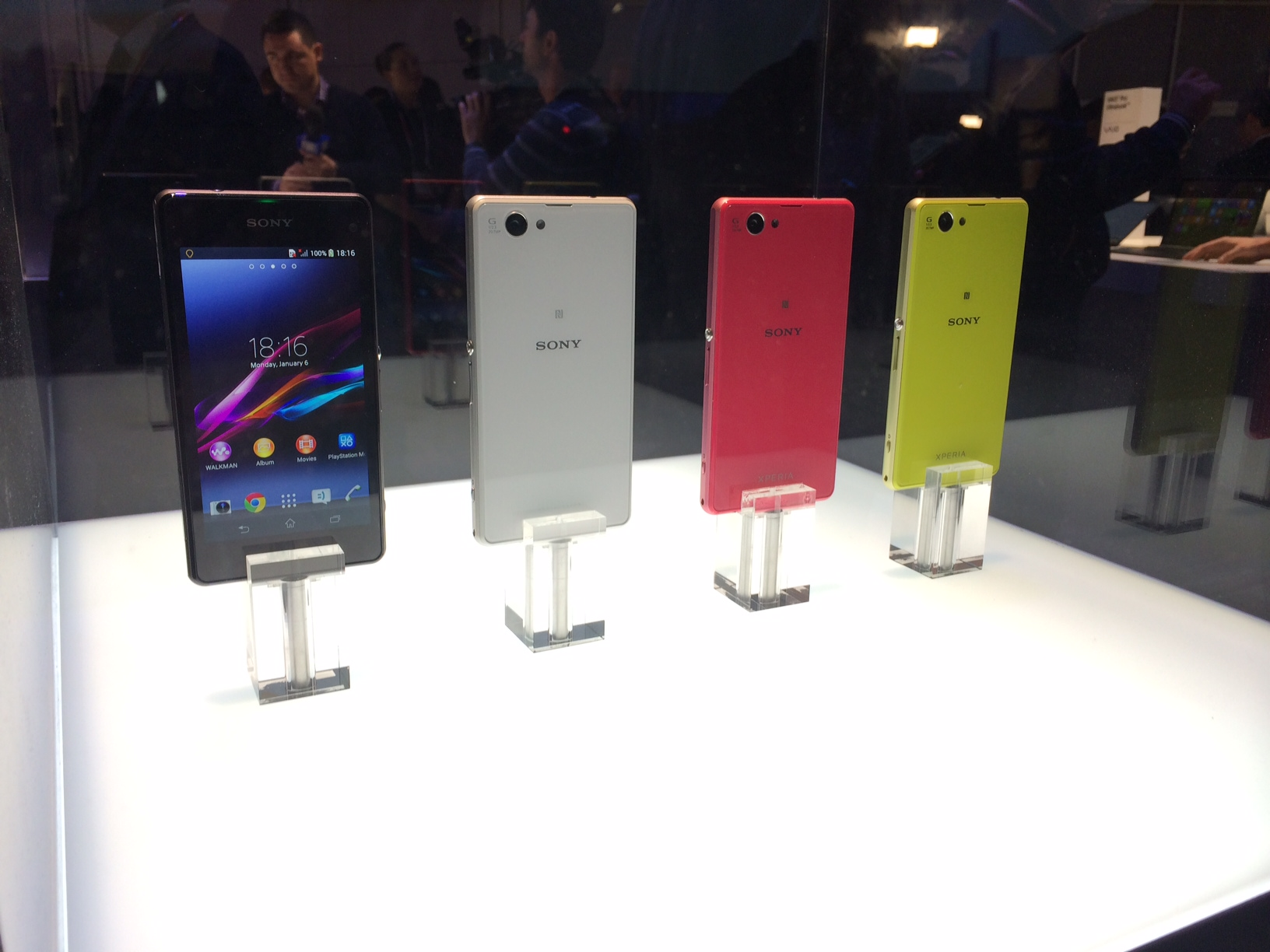 Sony unveils its Xperia Z1 Compact and Z1S Android smartphones