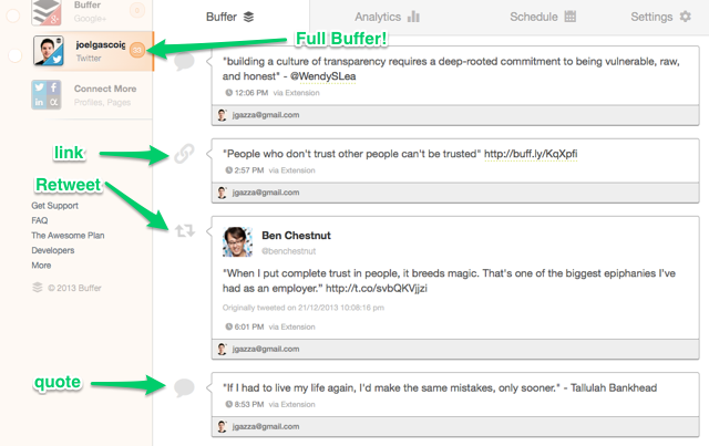 joel fullbuffer Tweeting pro tips: 5 types of tweets to keep your followers engaged