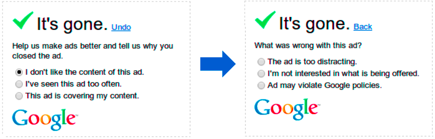 mute Google introduces surveys to discover why youre muting its ads