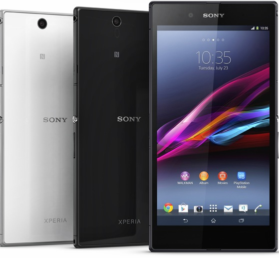 newxperiaz Only in Japan: Sony transforms its Xperia Z Ultra smartphone into a WiFi only tablet