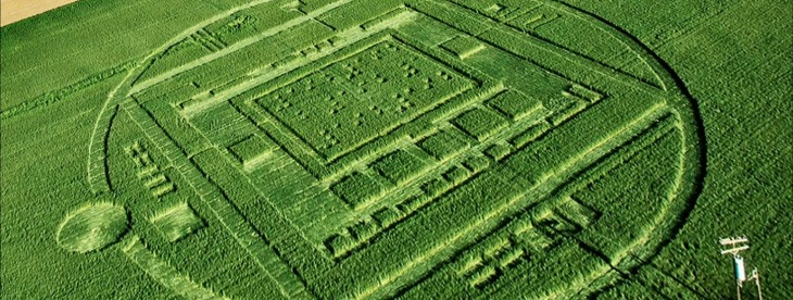 No, it wasn't aliens: Nvidia created a crop circle to market its new mobile processor