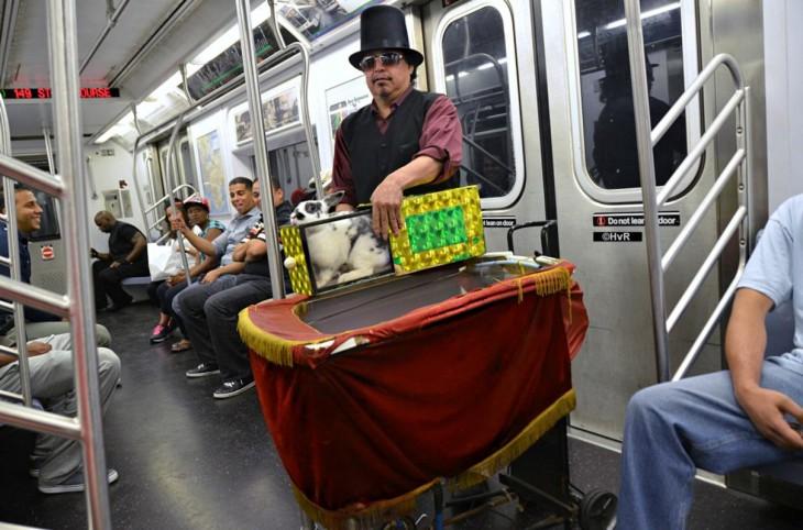 ny subway performer