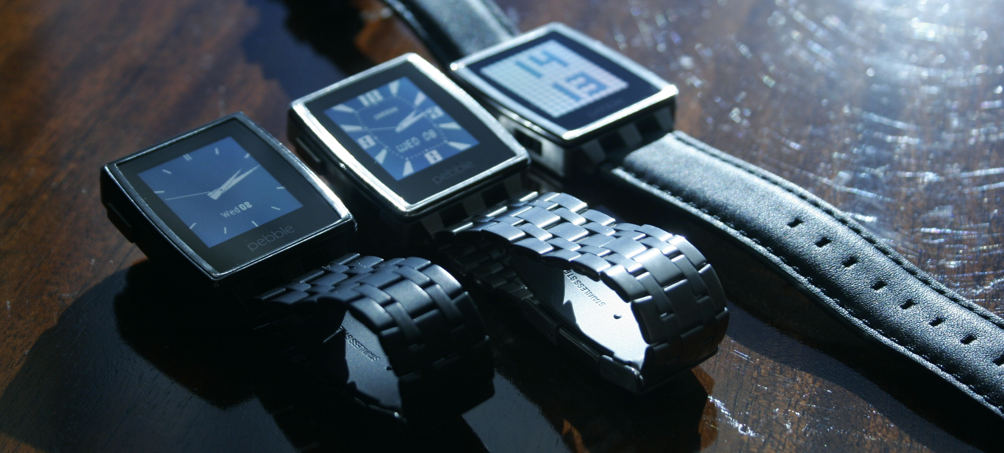 Hands on with the Pebble Steel: A smartwatch that actually looks like a watch