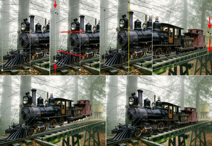 perspective before after1 730x503 Adobe introduces support for 3D printing to Photoshop, brings a glut of new features to its Creative Cloud apps