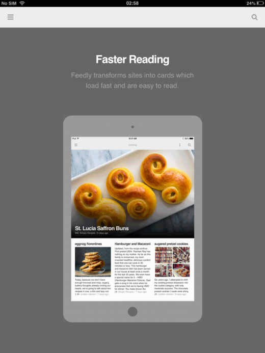 photo 520x693 Feedly for iOS updated with speed reading feature, night theme and new design for the iPad