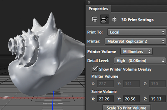 Adobe Adds 3D Printing Support To Photoshop, Other Creative Cloud
