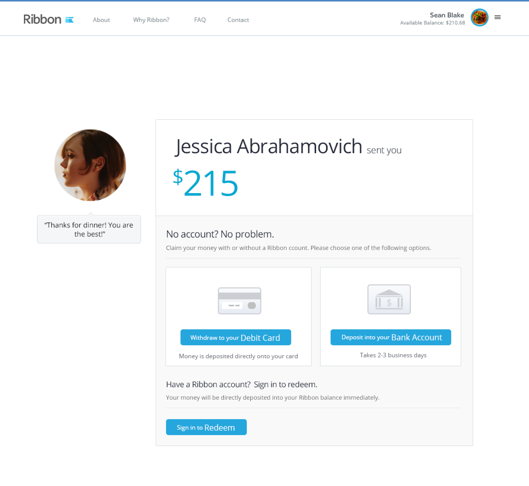 Ribbon Unveils Its Account-Free Consumer Peer-To-Peer Payment Product