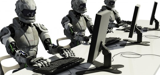 robots using computers