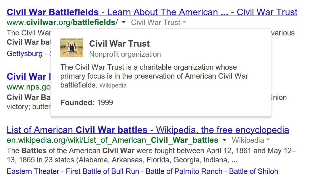 Google Search for desktop now shows you more information about websites in results