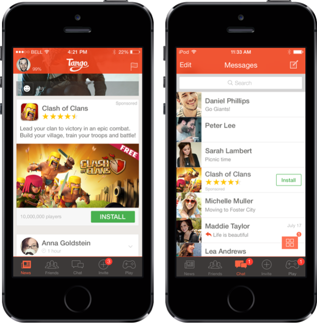 tango coc 1 Dont expect another major messaging app acquisition any time soon