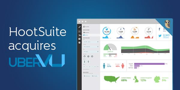 HootSuite buys social analytics company uberVU for undisclosed sum