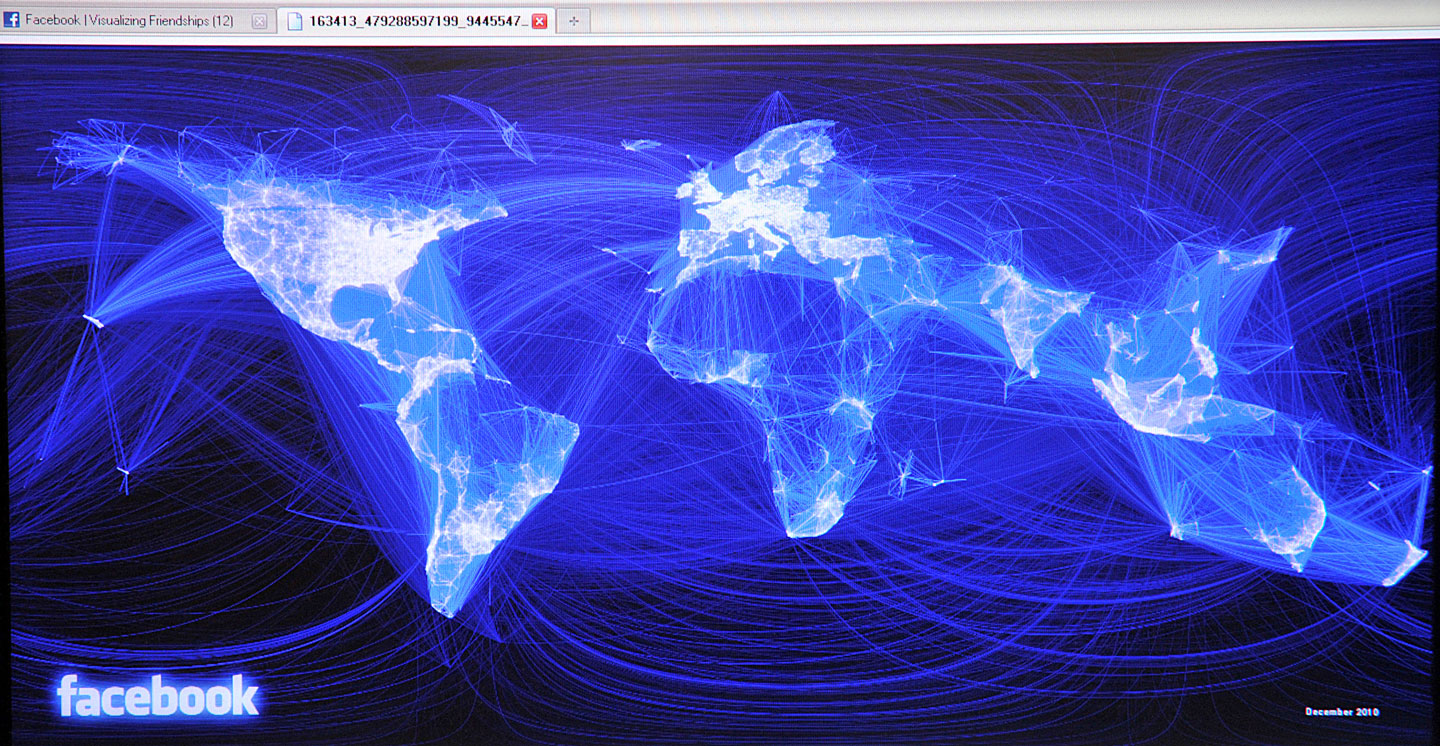 Social networks facebook dominates 130 out of 137 countries sciox Images