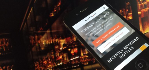20140207 111224 520x245 Dram good: Distiller for iOS wants to be the ultimate whisky drinkers companion