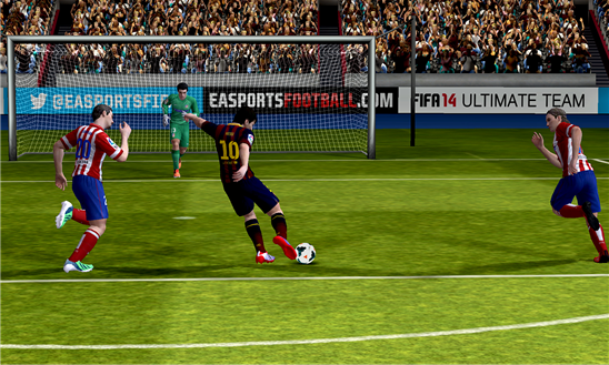 FIFA 14 finally arrives on Windows Phone 8, five months after launching on Android and iOS