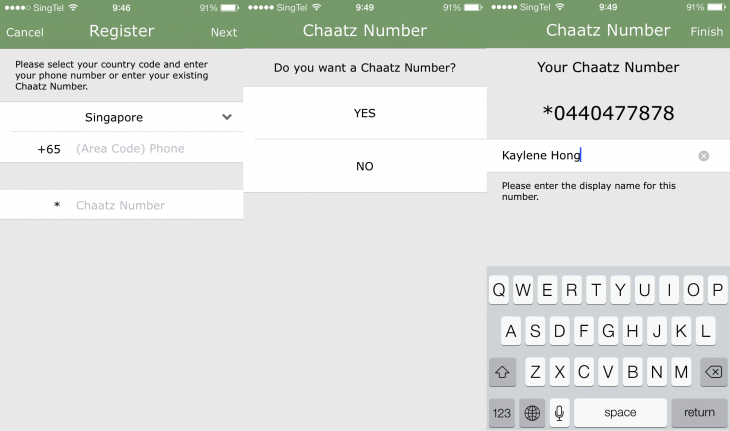 Chaatz 1 730x431 Chaatz is a new messaging app that is an antithesis of now trending feature packed platforms