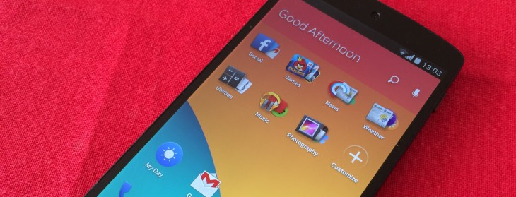 EverythingMe's new Android homescreen learns what apps you want, when you want them