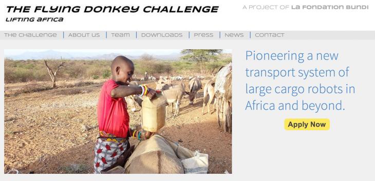 Flying Donkey challenge africa